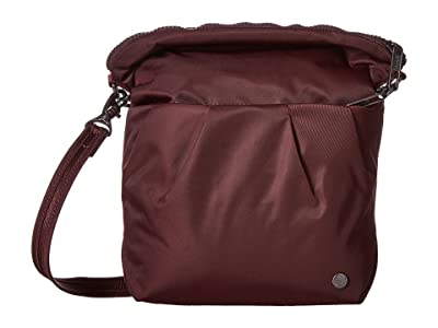 Pacsafe Citysafe CX Anti-Theft Convertible Crossbody (Merlot) Cross Body Handbags