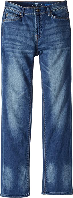 7 For All Mankind Kids Slimmy Jeans in Heritage Blue (Big Kids)