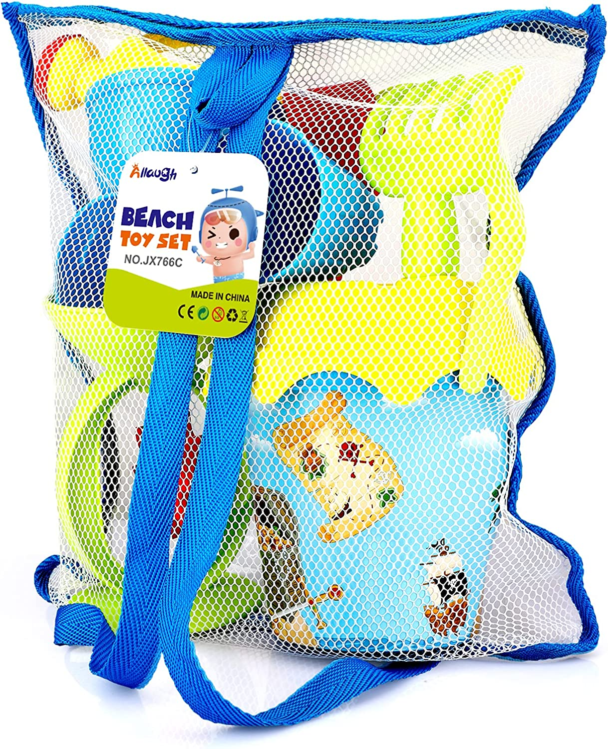 Allaugh Sand Toys Free shipping on posting Lowest price challenge reviews for Kids Pir Beach 7Pcs with Wheel