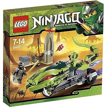 LEGO Ninjago 9447 - La Moto Venenosa de Lasha: Amazon.es