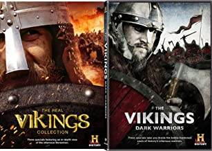 The Vikings: Dark Warriors DVD & The Real Vikings Collection History Channel Set