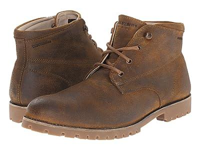 Wolverine Heritage Cort Waterproof Leather Chukka (Brown Leather) Men