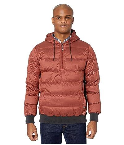 Prana Pyx Hoodie Jacket (Maple) Men