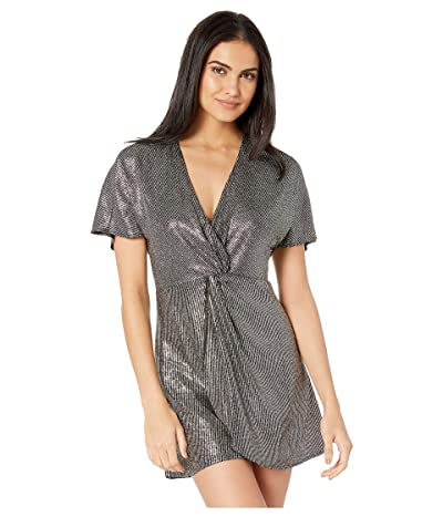 Show Me Your Mumu Get Twisted Mini Dress (Disco Glitz) Women