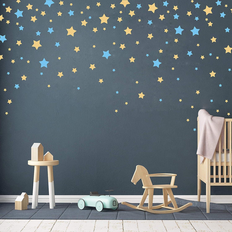 190 Picees Star Wall Decals Vinyl Matte Popular popular Wa Nursery Recommendation