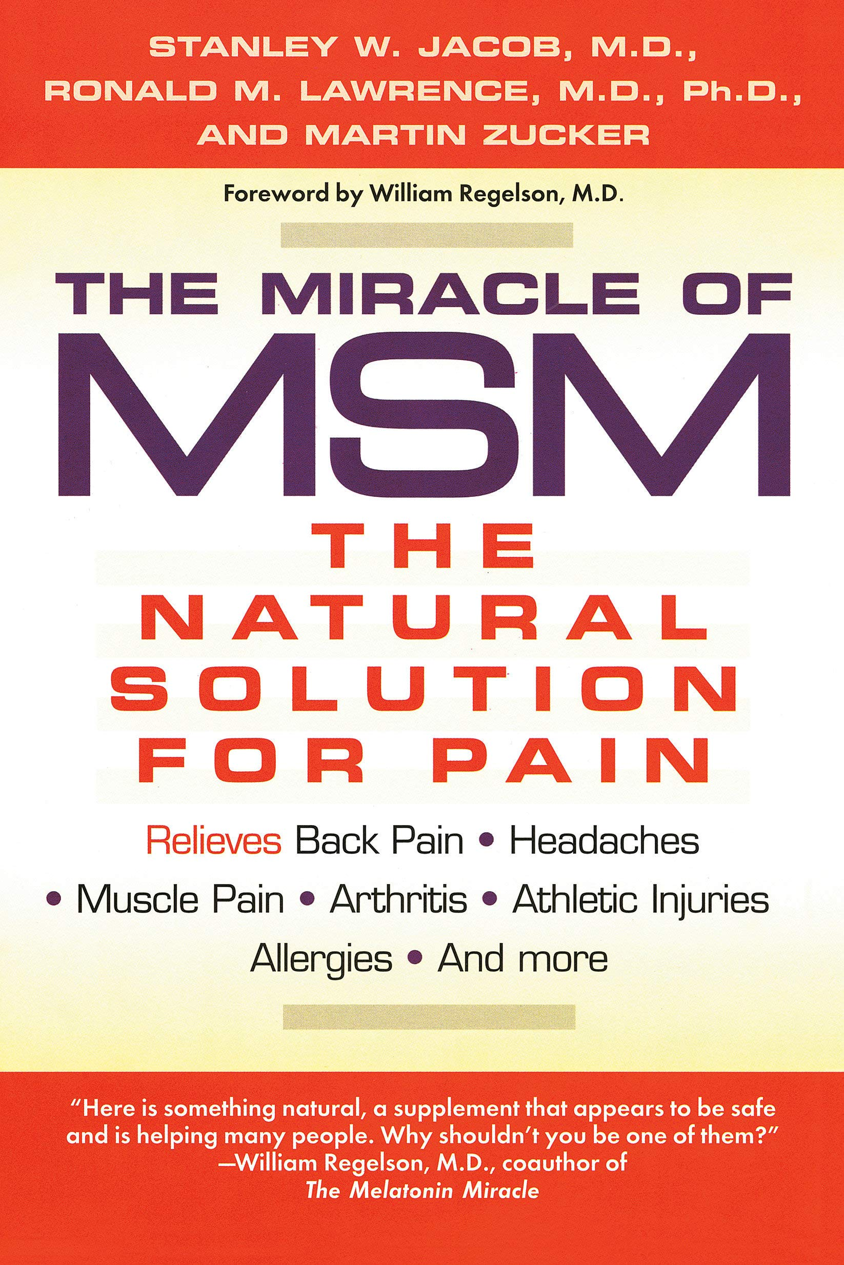 Image OfThe Miracle Of MSM: The Natural Solution For Pain