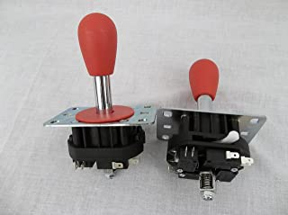 RetroArcade.us Mag-stik-Plus Arcade Joystick Player Switchable from 4 to 8 Way from The Top of The Panel