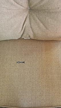 Nassau Outdoor Patio Set 5pc Adjustable Club Chairs Cast Aluminum Dark Bronze, Sunbrella Sesame Cushions