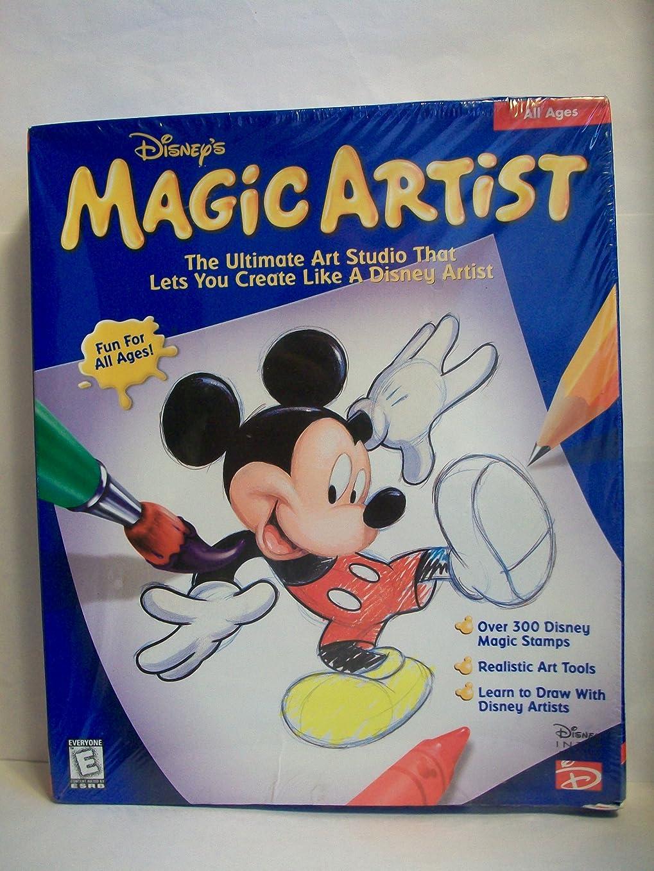 ゆりベスビオ山パステルDisney Magic Artist Org (輸入版)