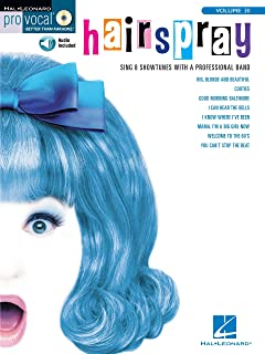 Hairspray Songbook: Pro Vocal Women's Edition Volume 30 (Pro Vocal Better Than Karaoke)