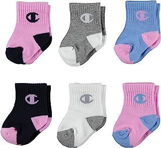 Champion unisex-child Champion Brand Infant Quarter Socks Socks