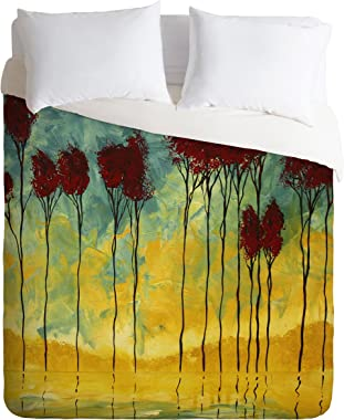 Deny Designs  Madart Inc. On The Pond 2 Duvet Cover, King