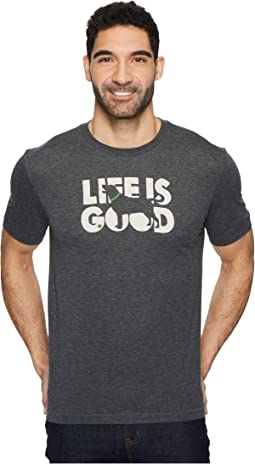 Life is Good - Knockout Dog Cool Tee