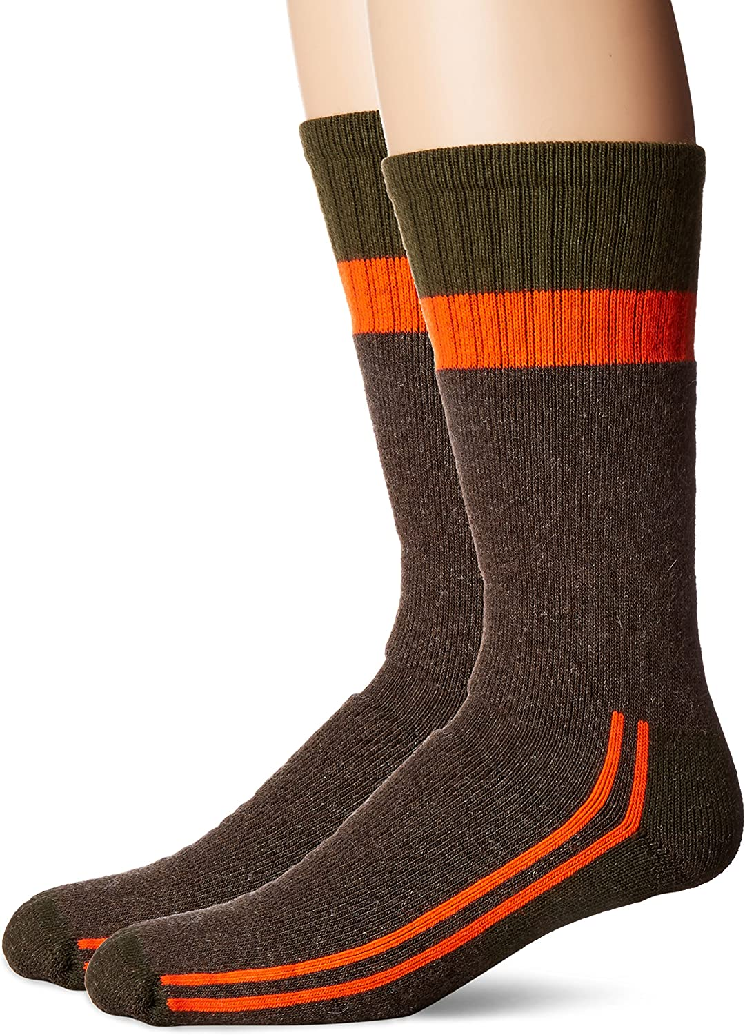 Durable Wicking Fruit of the Loom mens Cotton Work Gear Crew Socks 10 Pack Casual Sock Cushioned