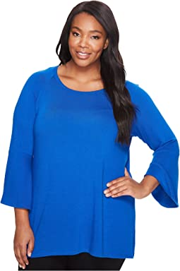 Plus Size Bell Sleeve Sweater