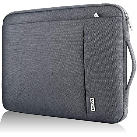 Permiak Laptop Sleeve Compatible MacBook Air 10 Inch Ultrabook Netbook Tablet Canvas Fabric Print Pattern Protective Carrying Bag Cover