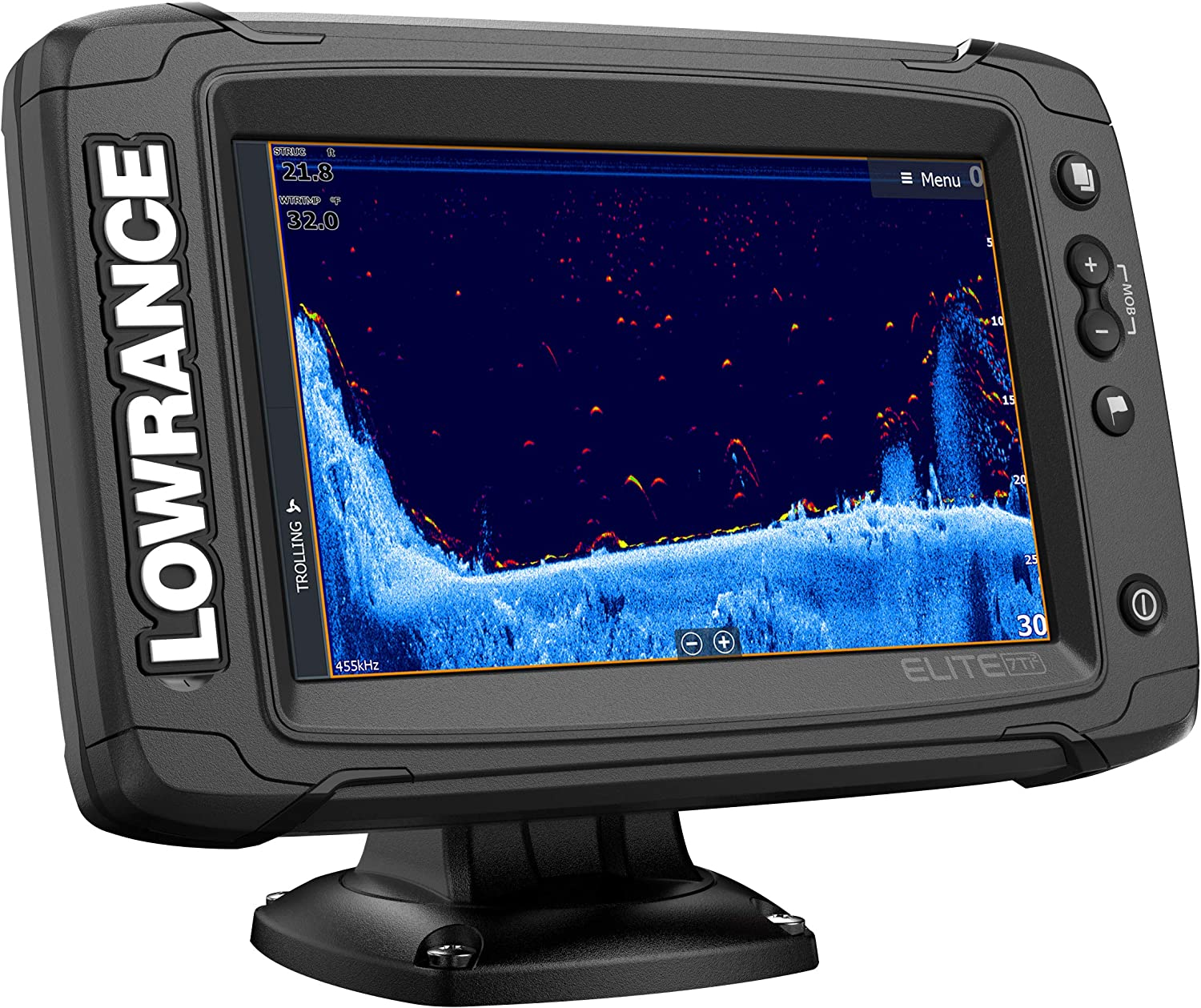 Wireless Networking Elite-7 Ti2-7-inch Fish Finder Active Imaging 3-in-1Transducer Real-Time Map Creation Preloaded C-MAP US Inland Mapping /…