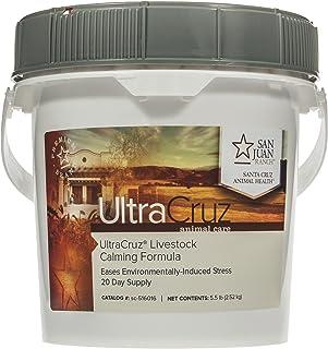 UltraCruz Livestock Calming Supplement, 5 lb, Pellet (20 Day Supply), Model Number: sc-516016