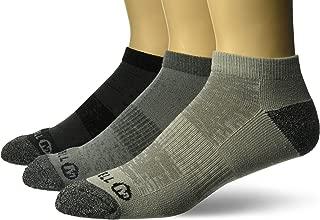 Men's 3 Pack Cushioned Performance Hiker Socks (Low/Quarter/Crew Socks)