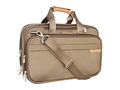 Briggs & Riley Baseline Expandable Cabin Bag (Olive) Tote Handbags