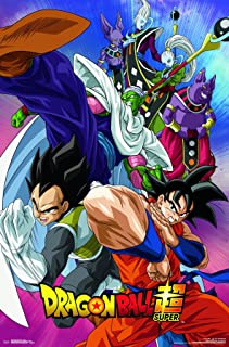 Trends International Dragon Ball: Super - Group Wall Poster, 22.375