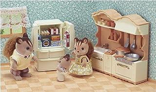 Sylvanian Families - La Ville - La Cuisine Aménagée - 5341 - Meubles et Accessoires Poupée - Mini Poupées