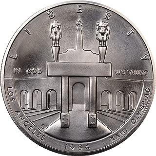 1984 S US Mint Olympic BU Commemorative Silver Dollar $1 Choice Brilliant Uncirculated US Mint