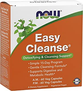 NOW Foods Easy Cleanse - 120 Vcaps