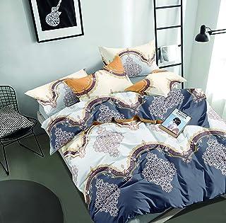 Flower Comforter 6Pcs Set King 240x260cm, AI1208K, multi color, multi color