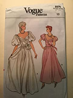 Vogue Pattern 8976 Wedding Dress/Bridesmaid Dress Size 10
