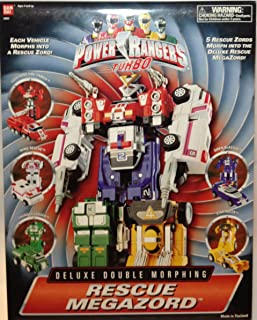 Power Rangers Turbo Rescue Megazord Deluxe Double Morphing Action Figure
