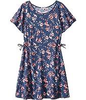 Splendid Littles Floral Print Ruffle Dress (Big Kids)