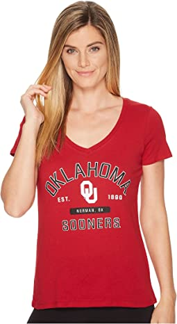 Oklahoma Sooners University V-Neck Tee