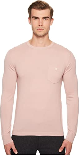 Todd Snyder Long Sleeve Cashmere T-Shirt Sweater