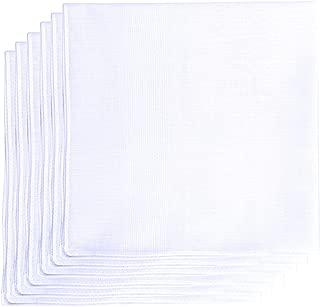 Geoffrey Beene 6 Pack Fine Men's Handkerchiefs