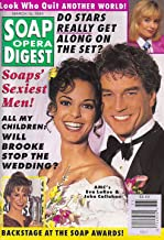 Eva LaRue John Callahan All My Children Nicolas Coster Soaps Sexiest Men March 15 1994 Soap Opera Digest Magazine