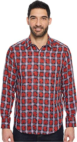 Robert Graham - Nassau Long Sleeve Woven Shirt