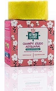 Champú Sólido Artesanal y Natural de Formula ANCESTRAL (80 gr). Olor extravagante. Con Aceite de Oliva y Karité Bio. Todo ...