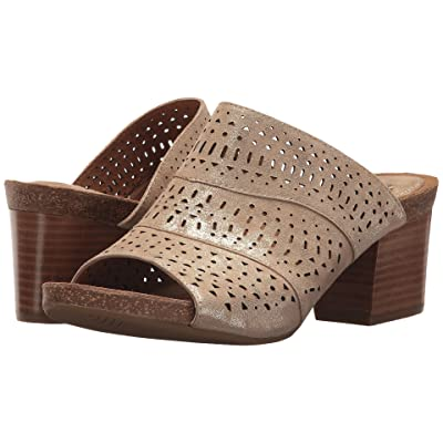 Sofft Magnolia (Platino Distressed Foil Suede) Women