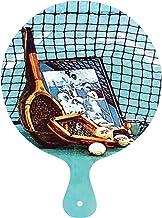 Navika USA Vintage Tennis Cutting Board/Cheese Tray, Blue/Brown