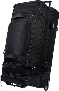 AmazonBasics Ripstop Wheeled Duffel - 35-Inch, Black