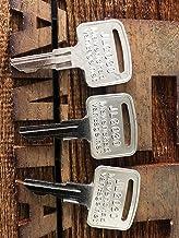 Keys for JLG 2860030 Upright Scissor Boom Manlift, 9901 (3)