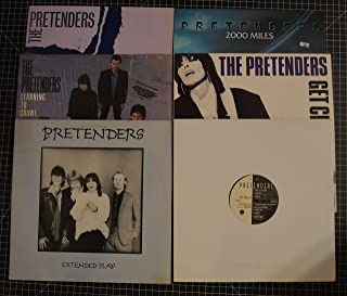 lot of 6 pretenders lps the singles, get close, 2000 miles, extended play, learning to crawl, line between love and hate