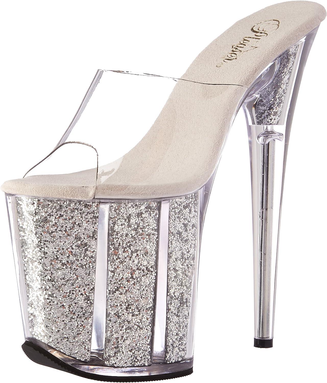 Pleaser Womens Flam801g C Sg Platform Sandal