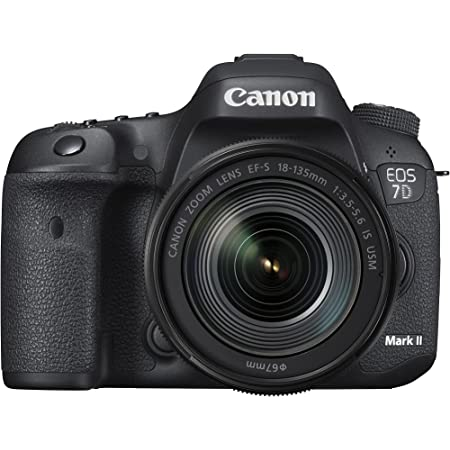 Canon EOS 7D Mark II Digital SLR Camera with EF-S 18-135mm is USM Lens, Wi-Fi Adapter Kit