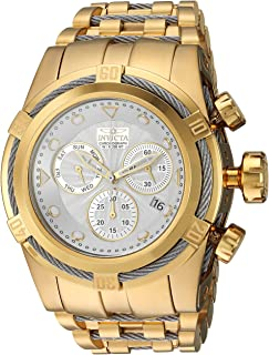 Invicta Men's Bolt Quartz Watch with Stainless-Steel Strap, Two Tone, 34 (Model: 23914)