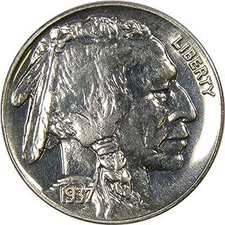 1937 proof buffalo nickel