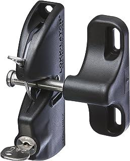 """Weiser National Hardware Lokklatch in Matte Black, 4-9/16"""" N346-201 V6201"""