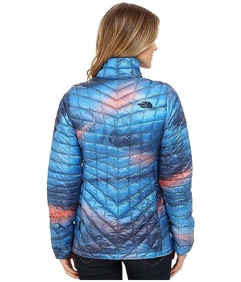 Temporada Face completa Swirl ThermoBall® Blue con Patriot The Print cremallera anterior North Chaqueta qwPTxBC