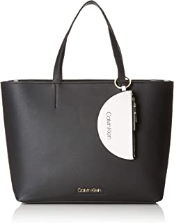 4796a1b0ce0 Calvin Klein Ck Must Large Shopper, Women's Tote, Black, 15.5x30.5x43